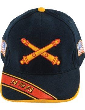 14 Field Artillery Branch of Service Cap (Black) ()