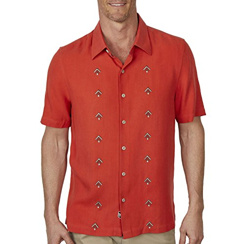Nat Nast Nordic Camp Shirt - Sunset Red - Nat Nast Camp Shirts