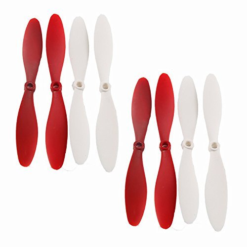 Qsmily® 8Pcs Blades Propellers Spare Parts for XK X380 X380A X380B X380C RC Quadcopter by Qsmily