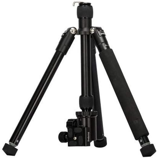 Engineering Measuring Tripod 150cm Photography Tripod Durable 62 Inch Tripod Detachable Monopod with Ball Head for DSLR Camera Color : Black, Size : One Size
