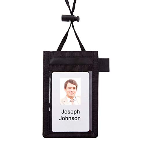Amazon com : Office Depot Neck Pouch Name Badge, Vertical, 2