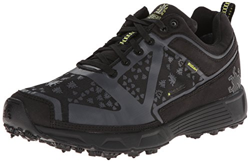 Icebug Women's DTS Dri BUGrip Running Shoe,Black/Charcoal,7 M US by Icebug