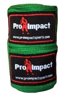 PRO IMPACT Boxing//MMA Handwraps 180 Mexican Style Elastic 1 Pair