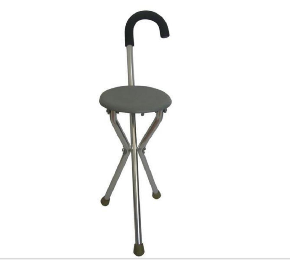 YAO Significa muleta de Aluminio Taburete Silla Vieja Mano de ...