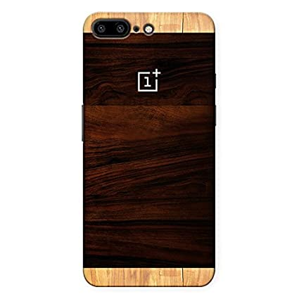 premium selection 0fb8f 2d876 CrazyInk Premium 3D Back Cover for Oneplus 5 - Wooden Print with Logo (Not  a Wooden Case), Wood Back Cover