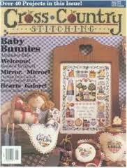 Cross Country Stitching Magazine June 1994 (over 40 Projects