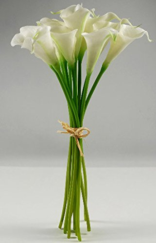 Way Home Fair Calla Lily Bouquet Natural Touch 14