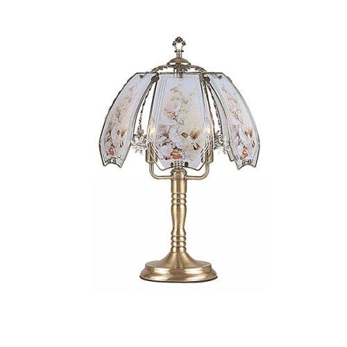 Hummingbird Motif Touch Lamp - 23.5