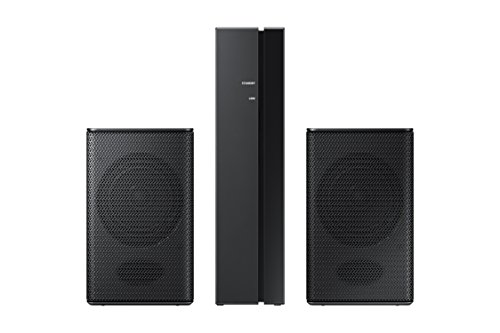 Rear Wall - Samsung 54 W RMS SWA-8500S 2.0 Speaker System  Wireless Speaker(s) Wall Mountable Black Model SWA-8500S/ZA