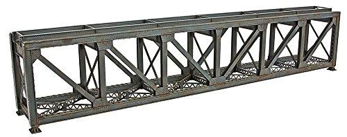 (Walthers Trainline 109' Single-Track Pratt Deck Truss Railroad Bridge - Kit Train Collectable Train)