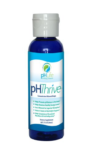 2 Oz Ph Thrive Alkaline Mineral Drops  Ph Drops  Alkaline Minerals