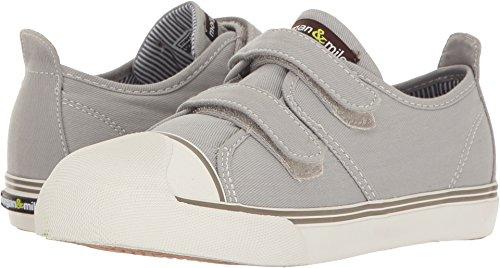 Double Strap Sneakers (Morgan&Milo Kids Baby Boy's Xander Double Strap (Toddler/Little Kid) Grey Sneaker)