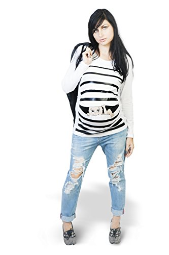 Funny Pregnancy Shirt Maternity Clothes