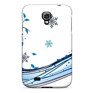 Defender Case For Galaxy S4, Winter Winter Theme Pattern