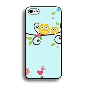 Cartoon Owl Unique iPhone 6Plus/iPhone 6SPlus Funda Plastic Hard Stylish Design carcasa de telefono Cover