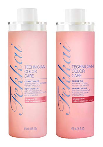 Fekkai Technician Color Care Shampoo and Conditioner Set - 16 fl oz per Bottle - 32 fl oz Total (16 fl oz Bottles, 32 fl oz Total) Conditioner 16 Ounce Bottle