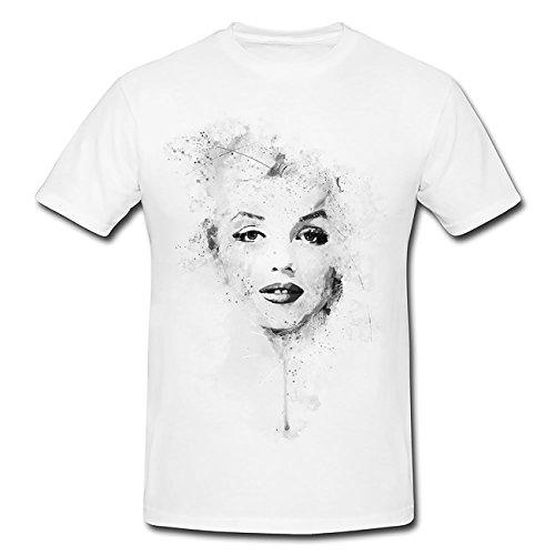 Marilyn Monroe II T-Shirt Herren, Men mit stylischen Motiv von Paul Sinus
