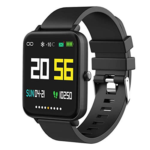 Foronechi Smart Watch for Android/Samsung/iPhone, Activity Fitness Tracker with IP68 Waterproof for Men & Women, Smartwatch with 1.54