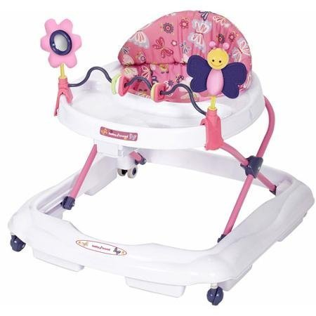 Baby Trend Walker, Emily, White , Pink