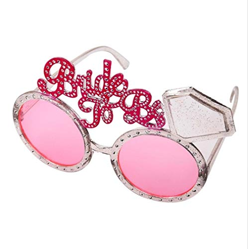 Taka Co Photo Booth Props Wedding Groom Bride Sunlasses Bridal Shower Glasses Hen Bachelorette Party Bride To Be Photo Booth Props Wedding Decoration -