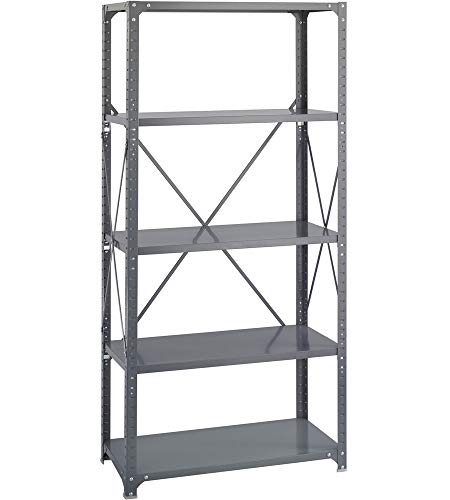 K&A Company 5 Shelf Storage Rack, 36'' x 75'' x 12'' x 22 lbs, 36 W x 12 D x 75 H by K&A Company (Image #2)
