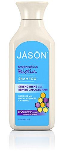 Jason Natural Products Natürliches Biotin Shampoo 473 ml