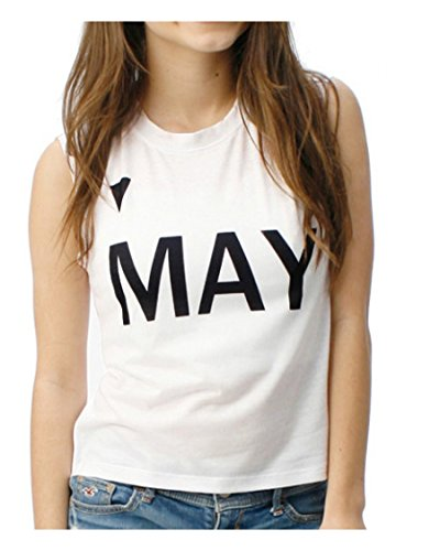 May Girls Muscle tee M