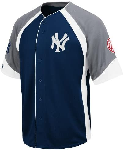 Majestic MLB New York Yankees Youth Cooperstown Wheelhouse Jersey, Niños, Small: Amazon.es: Deportes y aire libre