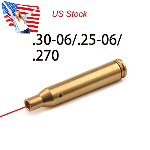 GOTICAL 30-06 25-06 and 270 Cartridge Laser Bore Sighter .270 Red Laser Sight Hunt Boresight Hunting Bore Sight