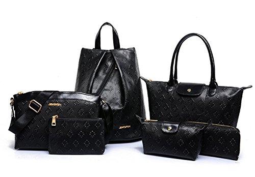 Tote Le Donne Nere Yiyida Bag Per 1qdtFw