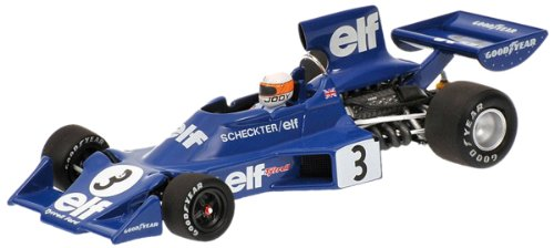 Minichamps 400740003 Tyrrell Ford 007 – Jody SCHECKTER, used for sale  Delivered anywhere in USA