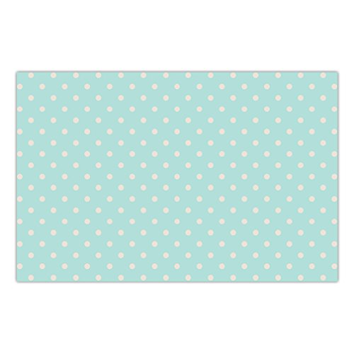25 Pack Paper Place Mats Baby Shower Table Seating Decor Polka Dotted Fun Boy Girl Gender Neutral Brunch Luncheon Indoor Outdoor Parties 17