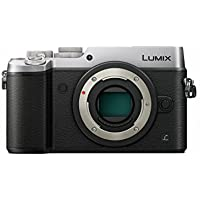 PANASONIC LUMIX GX8 Body Mirrorless 4K Camera Body, Dual I.S. 1.0, 20.3 Megapixels, 3 Inch Touch LCD, DMC-GX8SBODY (USA SILVER)