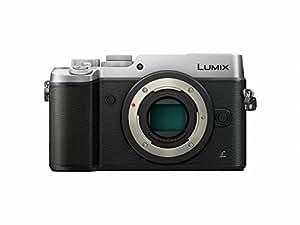 PANASONIC LUMIX GX8 Body Mirrorless 4K Camera Body, Dual I.S. 1.0, 20.3 Megapixels, 3 Inch Touch LCD, DMC-GX8SBODY (USA SILVER)