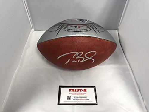d Signed New England Patriots Authentic Super Bowl LI 51 Rare Limited Edition Football TriStar Authentic COA & Hologram (Hall Of Fame Limited Edition Football)