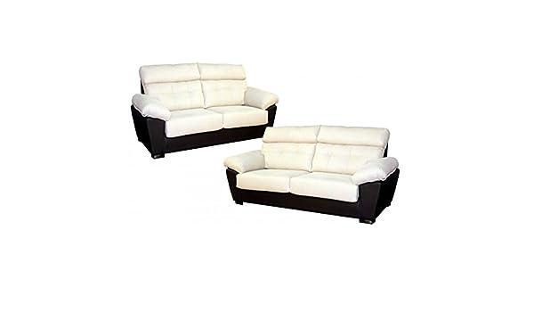 SHIITO Conjunto de sofás de 3 y 2 plazas tapizado en Color ...