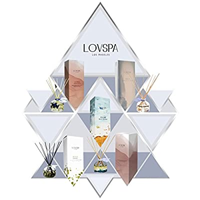 LOVSPA Essential Oil Reed Diffusers | Made in the USA | Vegan | Amazing Air Freshener, Gift and Home Décor