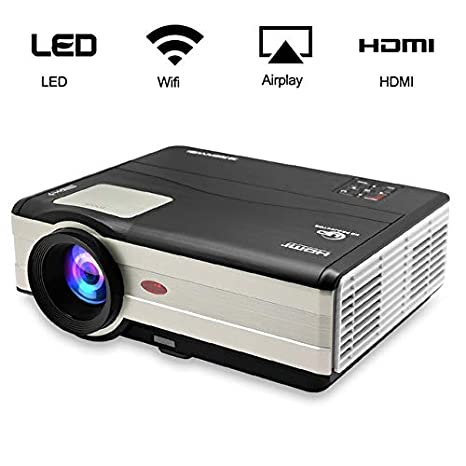 Amazon.com: DishyKooker Android WiFi Projector LED Proyector ...