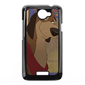 HTC One X Cell Phone Case Black Fox and the Hound 2 Phone Case Cover DIY Design XPDSUNTR24759