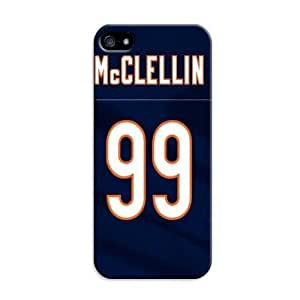 The Best Selling Chicago Bears Design Tough Case Phone Cover Skin For iphone5c Kimberly Kurzendoerfer