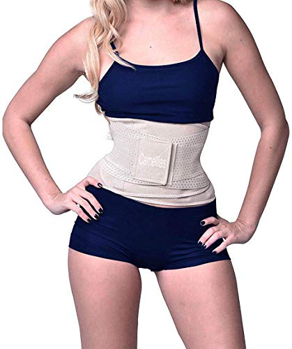 SHAPERX Women's Waist Trainer Belt Waist Training Corset Cincher Slimming Body Shaper for an Hourglass Weight Loss Workout Gym Fitness Trimmer Slimmer Shaper, -