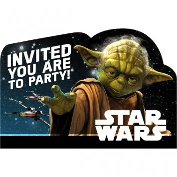 Star WarsTM Classic Postcard Invitations, Party Favor]()