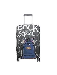 3f43f005df0 Hello Welcome Back To School Suitcase - Funda protectora para equipaje de  viaje