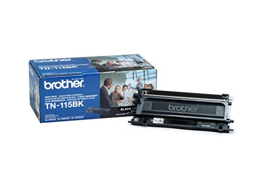 Brother TN-115BK High Yield Black Toner Cartridge for Brother HL4040CN,HL4070CDW Series