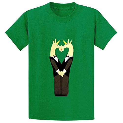 i-do-too-unicorn-youth-crew-neck-customized-t-shirt-green