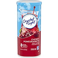 Crystal Light Cherry Pomegranate Drink Mix (5 Count of 0.44 Oz Packets), Pack of 4