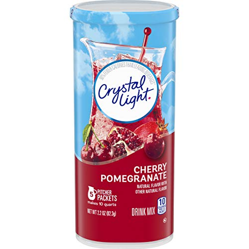 Crystal Light Cherry Pomegranate Drink Mix (5 Pitcher Packets)