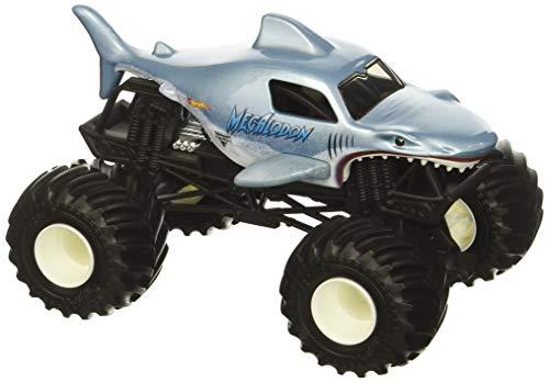 Hot Wheels Monster Jam Megalodon Vehicle, 1:24 Scale