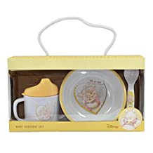 Winnie The Pooh Baby Feeding Set - Sipping Cup, Bowl and Spoon