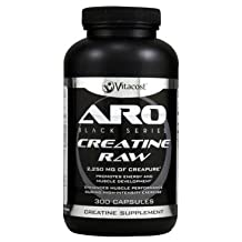 ARO-Vitacost Black Series Creatine RAW -- 2250 mg - 300 Capsules - UNBEATABLE VALUE!!!